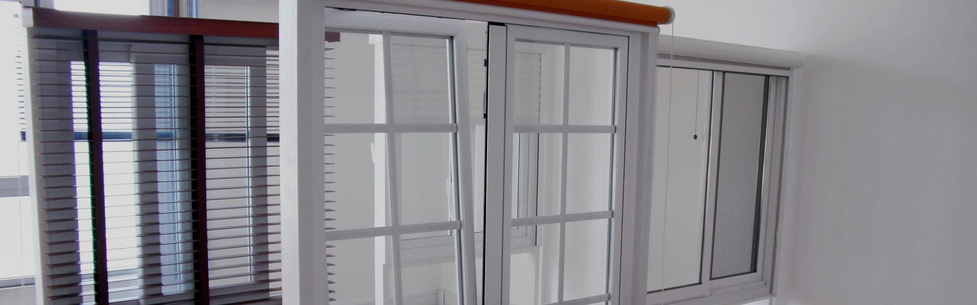 Caixilhos de alumínio corte térmico