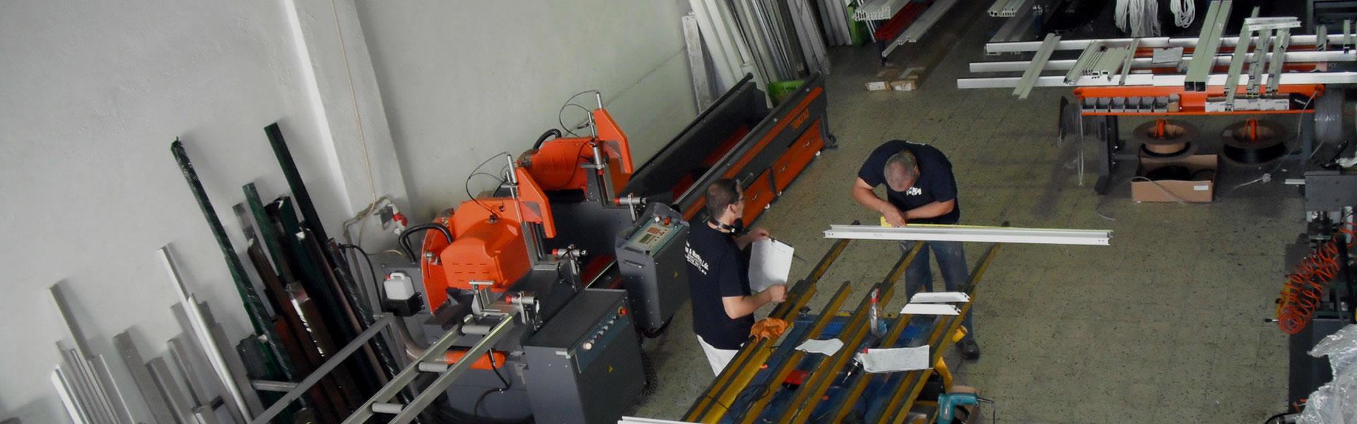 Caixilhos em alumínio e PVC