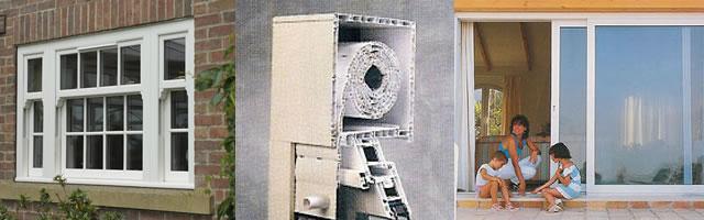 Caixilhos alumínio e PVC