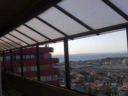 Cobertura telhado isotérmico